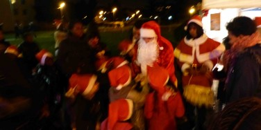 L'arrivée du Père-Noël